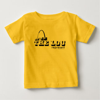 The Lou St. Louis Represent Baby T-Shirt