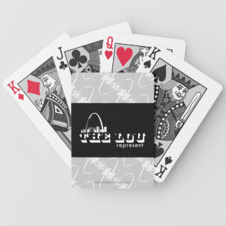 The Lou St. Louis Represent Bicycle Playing Cards