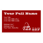 The Lou St. Louis Represent Business Card