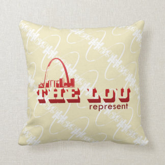 The Lou St. Louis Represent Pillow
