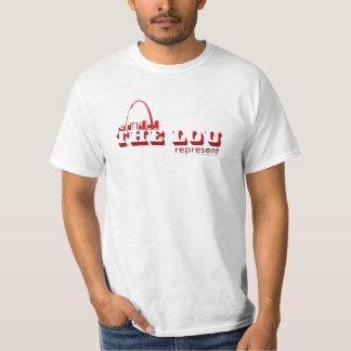 The Lou St. Louis Represent T-Shirt