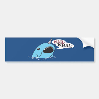 The Loud Narwhal Car Bumper Sticker