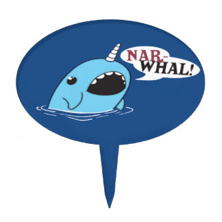 The Loud Narwhal Cake Topper
