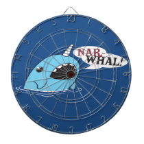 The Loud Narwhal Dart Board