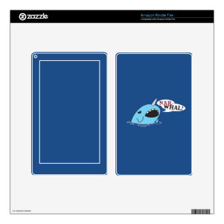 The Loud Narwhal Decals For Kindle Fire