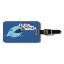 The Loud Narwhal Luggage Tag