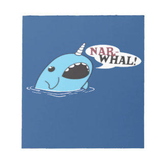 The Loud Narwhal Notepad