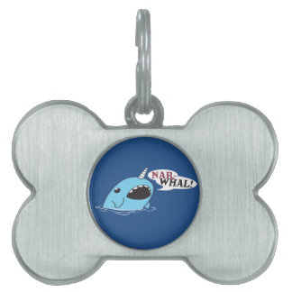 The Loud Narwhal Pet Tag