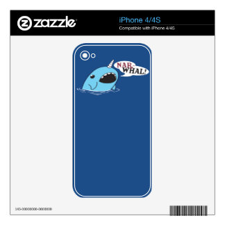 The Loud Narwhal Skins For iPhone 4S