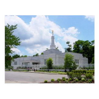 The Louisville Kentucky LDS Temple Postcard