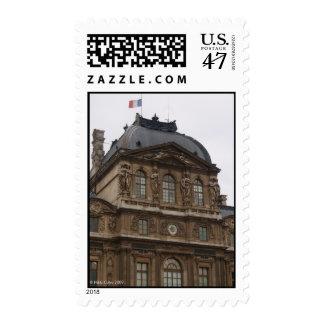 The Lourve Postage Stamp