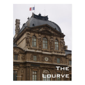 The Lourve Postcard