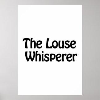 the louse whisperer poster