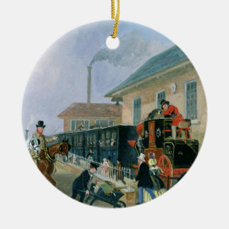 The Louth-London Royal Mail Travelling by Train fr Ceramic Ornament