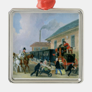 The Louth-London Royal Mail Travelling by Train fr Metal Ornament