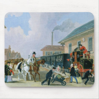 The Louth-London Royal Mail Travelling by Train fr Mouse Pad