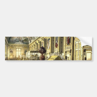 The Louvre a gallery in the Louvre Paris France Bumper Stickers
