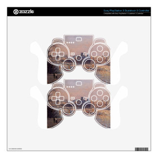 The Louvre, Afternoon by Camille Pissarro PS3 Controller Skin