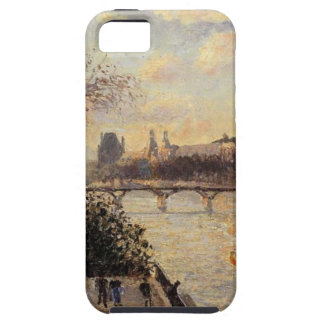 The Louvre and the Seine from the Pont Neuf iPhone SE/5/5s Case