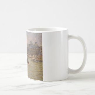 The Louvre by Camille Pissarro Coffee Mug