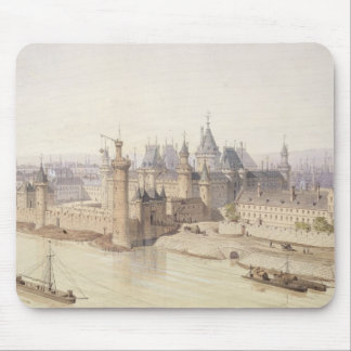 The Louvre during the Reign of Charles V Mouse Pad