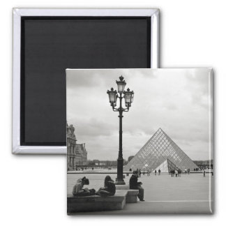 The Louvre Glass Pyramid Magnet Fridge Magnets