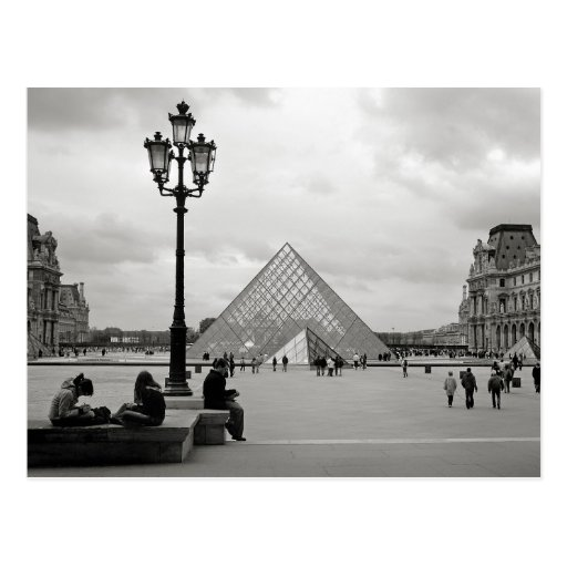 The Louvre Glass Pyramid Postcard Post Card