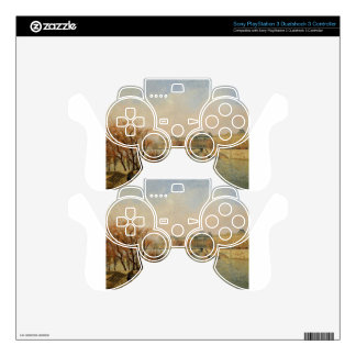 The Louvre, Morning, Sun by Camille Pissarro PS3 Controller Decal