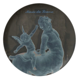 The Louvre Museum Cupid Plate
