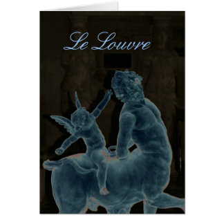 The Louvre Notecard