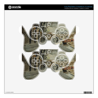 The Louvre, Paris by Albert Anker PS3 Controller Skins