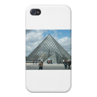 The Louvre Paris Cases For iPhone 4