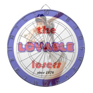 The Lovable Losers Dartboard