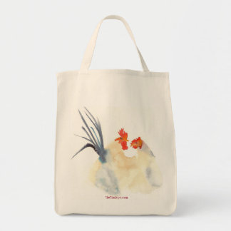 The Love Chickens Organic Tote Canvas Bags