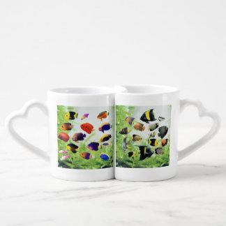 The love cup of Marine Angelfish Lovers Mugs