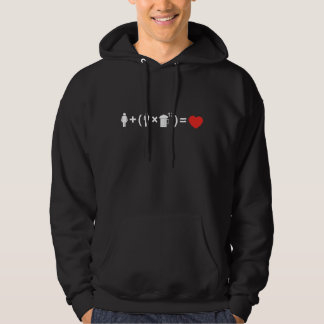 The Love Equation for Men Hoodie