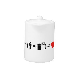 The Love Equation for Men Teapot