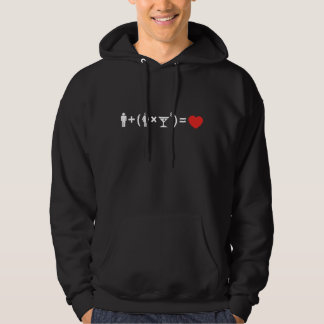 The Love Equation for Women Hoodie