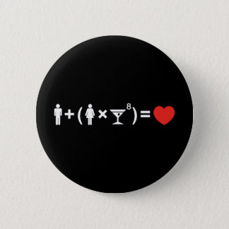 The Love Equation for Women Pinback Button