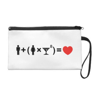 The Love Equation for Women Wristlet