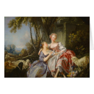The Love Letter By François Boucher Card