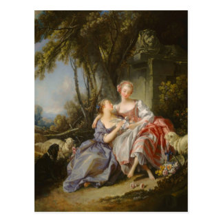 The Love Letter By François Boucher Postcard