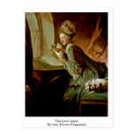 The Love Letter By Jean-Honore Fragonard Postcards