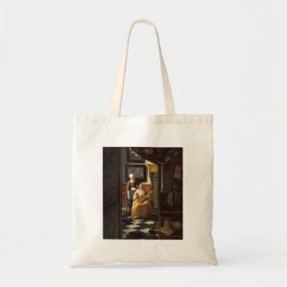 The love letter by Johannes Vermeer Tote Bag