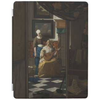 The Love Letter by Johannes Vermeer iPad Cover