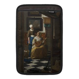 The Love Letter by Johannes Vermeer MacBook Sleeves