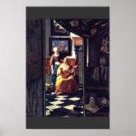 The Love Letter,  By Johannes Vermeer Poster