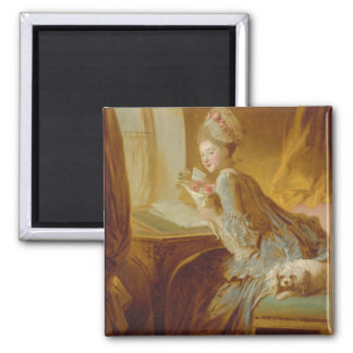 The Love Letter - Jean-Honoré Fragonard Magnet