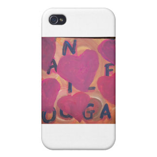 THE LOVE LION iPhone 4 COVERS