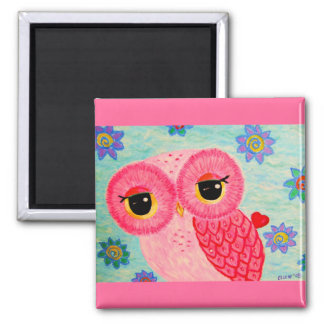 The Love Messenger 2 Inch Square Magnet
